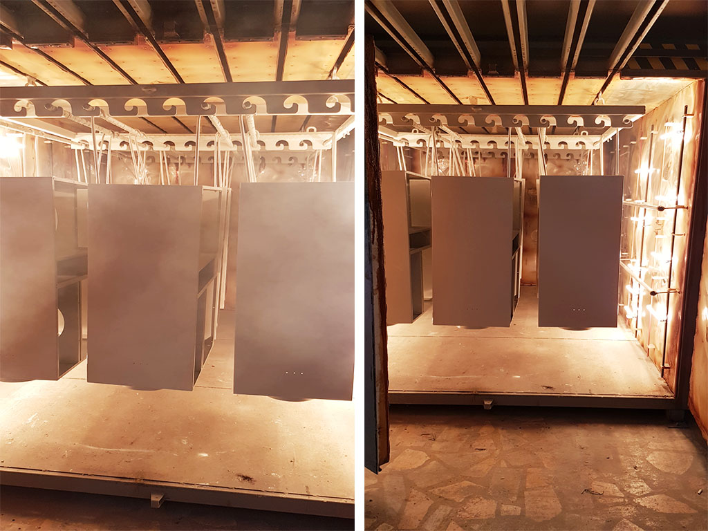Usage of Infrared Method in Industrial Heating