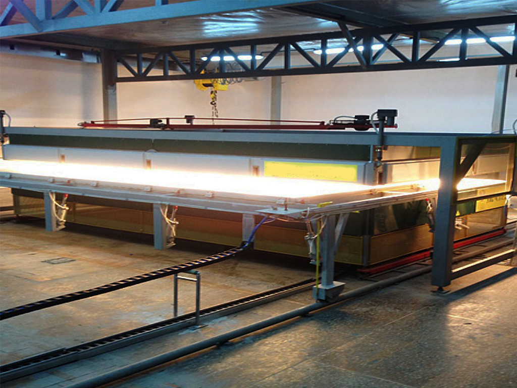 Infrared Ovens-Electrostatic Powder Coating Industry